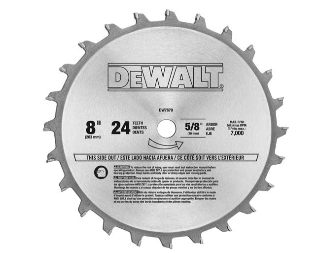 best dado blades for table saw