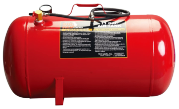 portable air storage tank with 11 gallon capacity