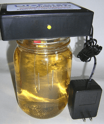 homemade colloidal silver generator using power plug