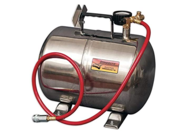 compressed air tank portable to fill tires