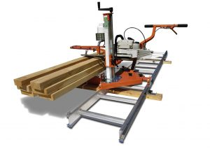 this chainsaw mill can help you chop wood faster