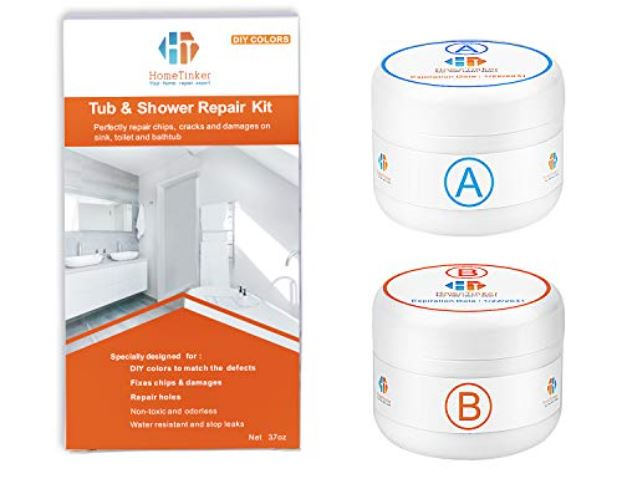 Most effective porcelain repair kit